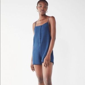 Urban Outfitters Linen Romper